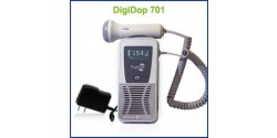 Rechargeable Display Digital Handheld Doppler, 3MHz Waterproof Obstetrical Probe