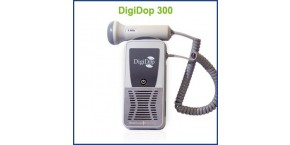 Non-display Digital Handheld Doppler, 3MHz Waterproof Obstetrical Probe