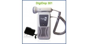 Rechargeable Non-display Digital Handheld Doppler, 2MHz Waterproof Obstetrical Probe