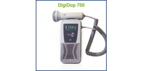 Display Digital Handheld Doppler, 3MHz Waterproof Obstetrical Probe