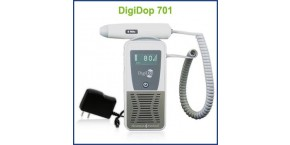 Rechargeable Display Digital Handheld Doppler, 8MHz Vascular Probe